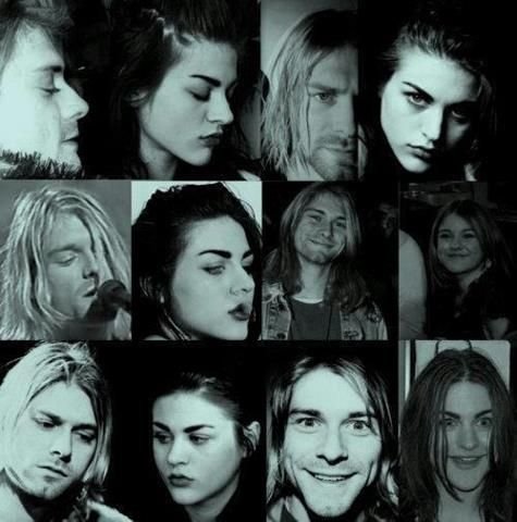 Frances bean cobain and kurt cobain