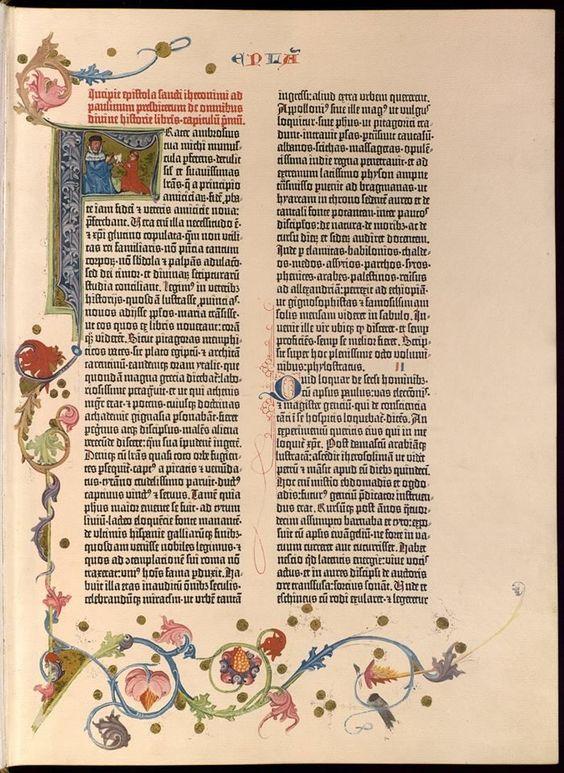 """""""Biblia Latina de las 48 líneas"""" - Búsqueda de Google"""