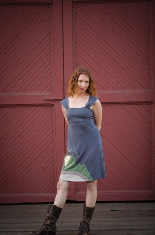 I have been wearing Synergy dresses for years! Love this one...need to start working out more....