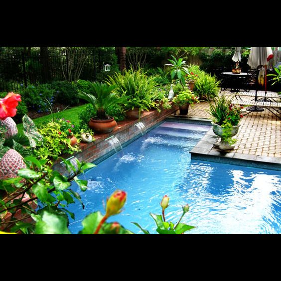 Swimming Pool Designs Mirror Lake Landscapes Pools Waterfalls For The Home Pinterest