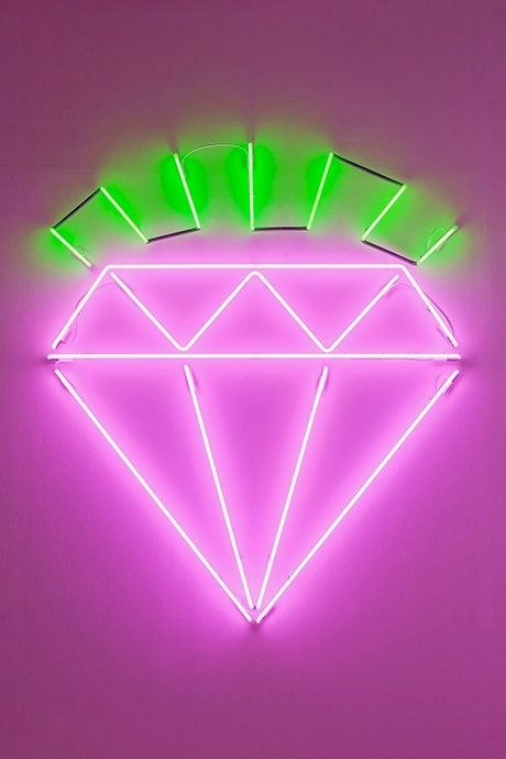 I need some bling! Neon by artist Dylan Neuwirth