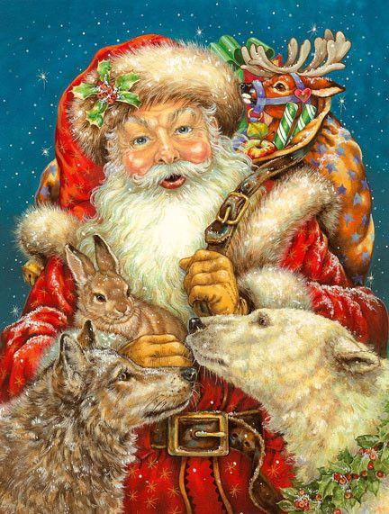 Santa ---Christmas By Donna Race: