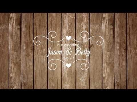 Wedding After Effects Free Intro 1 Youtube Wedding Template Free Heart Shapes