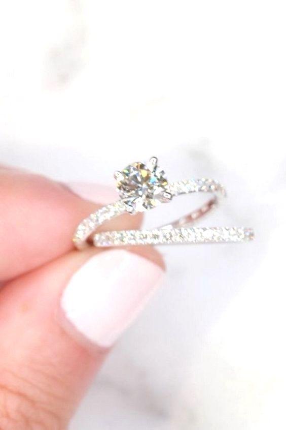 Stunning Fine Wedding Ring Picked Just For You Weddingringsonsale Wedding Rings Vintage Diamond Wedding Rings Wedding Ring Cushion