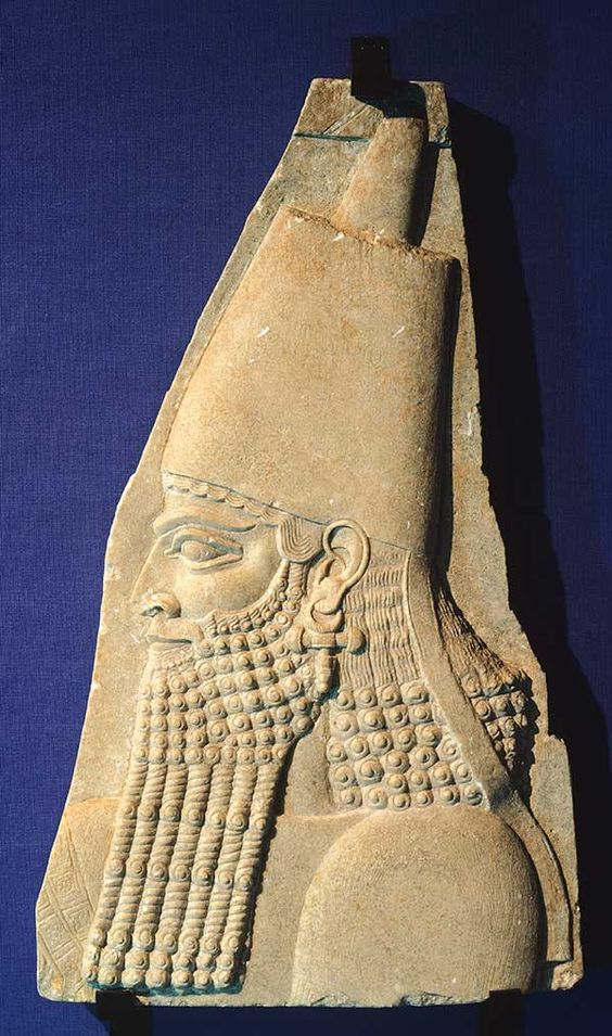 Archaeology confirms 50 different people referenced in the Bible to have truly existed throughout History. Their names appear in inscriptions written during the period described by the Bible, and in most instances during or quite close to the lifetime of the person identified. They range from Israelite Kings and Mesopotamian monarchs to lesser-known figures. This image is of Sargon-II-Khorsabad-Bridgeman, one of the fifty Hebrew Bible Figures identified in archaeological record.