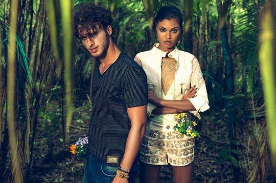 awesome Daniela Braga e Rhuan Favoretto para Six One Verão 2014 por Fernando M. Canteras ( Campanha)