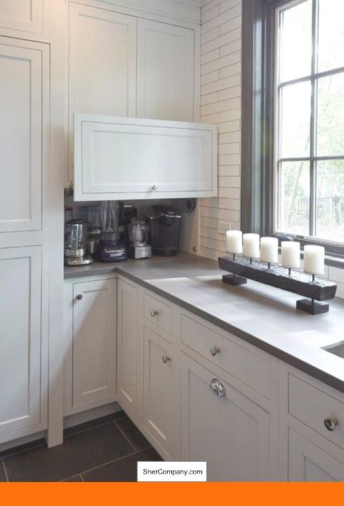 White Cabinets With Slate Backsplash And Pics Of White Kitchen Cabinets With Exposed Hinges Tip 54525695 Kitch Kitchen Interior Kitchen Layout Pantry Design