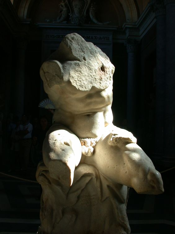 The Belvedere Torso, the 2nd century BC, Vatican Museums, Rome