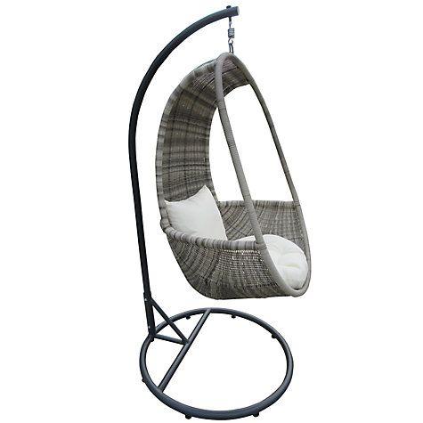 buy john lewis dante hanging pod chair online at johnlewis
