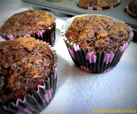 Abóbora Menina: Muffin de Chocolate e Banana