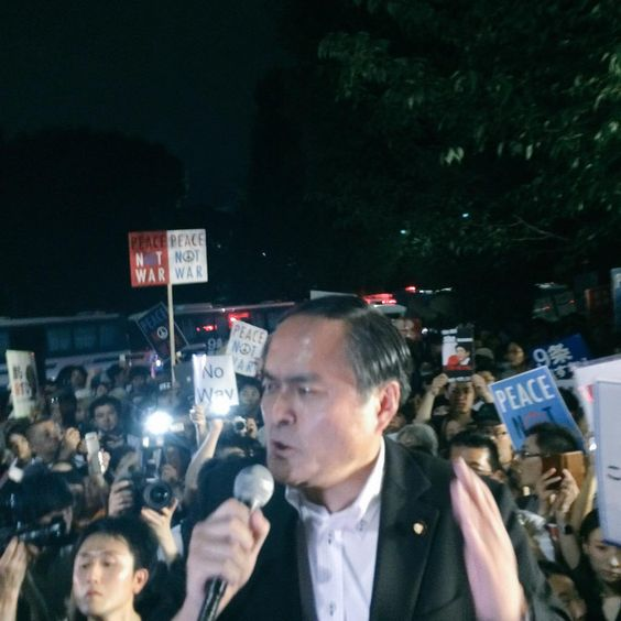 社民党党首吉田忠智さんスピーチです!!  #本当に止める 2015/7/15