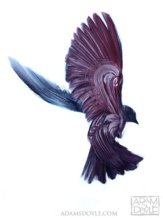 Gorgeous Bird Paintings by Adam S. Doyle