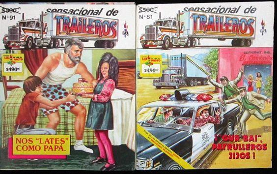Sensacional De Traileros, Editorial Ejea, Comic.
