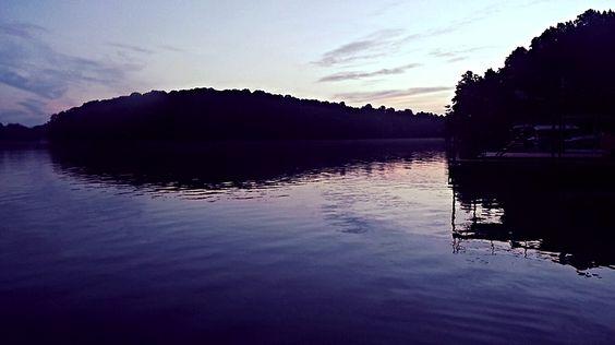 Morning on the lake @ Lake Lanier