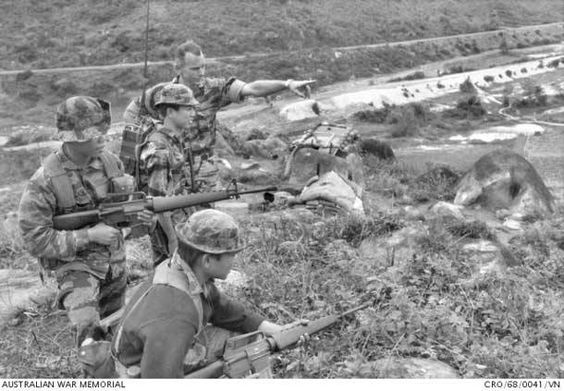 What were some of the Australian soldiers experiences during the Vietnam War?