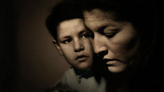 Mercedes Sosa y su hijo.