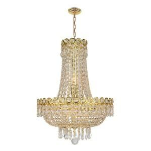 ... Light Gold Crystal Chandelier W83049g16 At The Home Depot Pinterest The  World 39 S Catalog Of Ideas