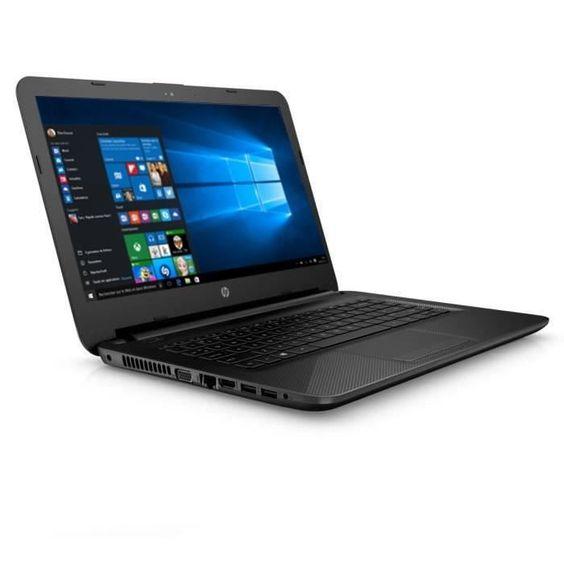 199.99 € ❤ #Soldes #HP #Ordinateur portable 14-ac120nf - Noir - 14 Pouces - 2Go de RAM - Windows 10 - Intel Celeron N3050 - Intel HD - Disque Dur 32Go eMMC ➡ https://ad.zanox.com/ppc/?28290640C84663587&ulp=[[http://www.cdiscount.com/informatique/ordinateurs-pc-portables/hp-ordinateur-portable-14-ac120nf-noir-14-2/f-10709-14ac120nf.html?refer=zanoxpb&cid=affil&cm_mmc=zanoxpb-_-userid]]