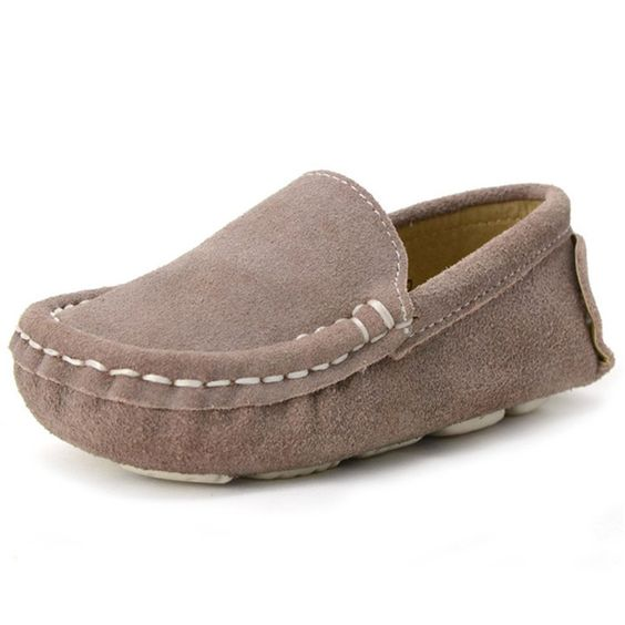classic slip on loafer (apricot)
