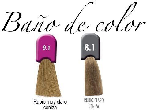 Tintura Como Pintar El Cabello Bano De Color How To Apply