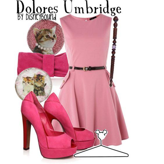"""Dolores Umbridge"" by lalakay on Polyvore"