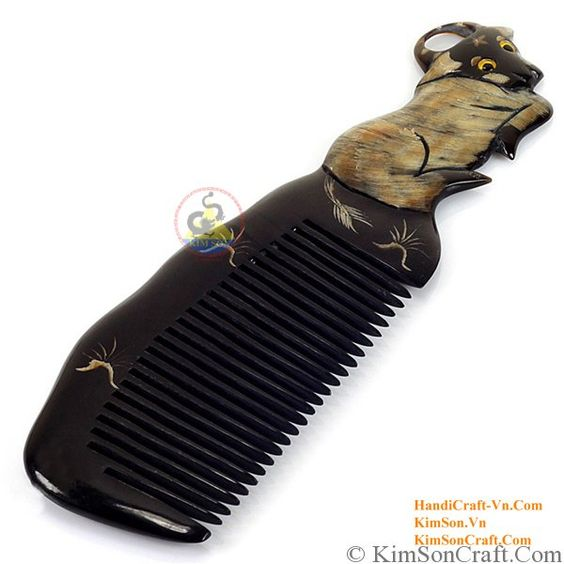 A unique and unusual hair comb for your beautiful hair, a great gift idea too! Its an Organic buffalo horn, shell (inlay),Eco-friendly, all-natural and 100% real organic and One of a kind piece of Art which is Smooth and shiny finish is for $8.80