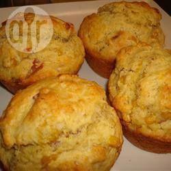 Photo de recette : Muffins salés au maïs et au bacon