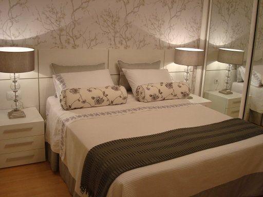 Papel pintado habitacion matrimonio 3 decorar tu casa - Como decorar una habitacion pequena de matrimonio ...
