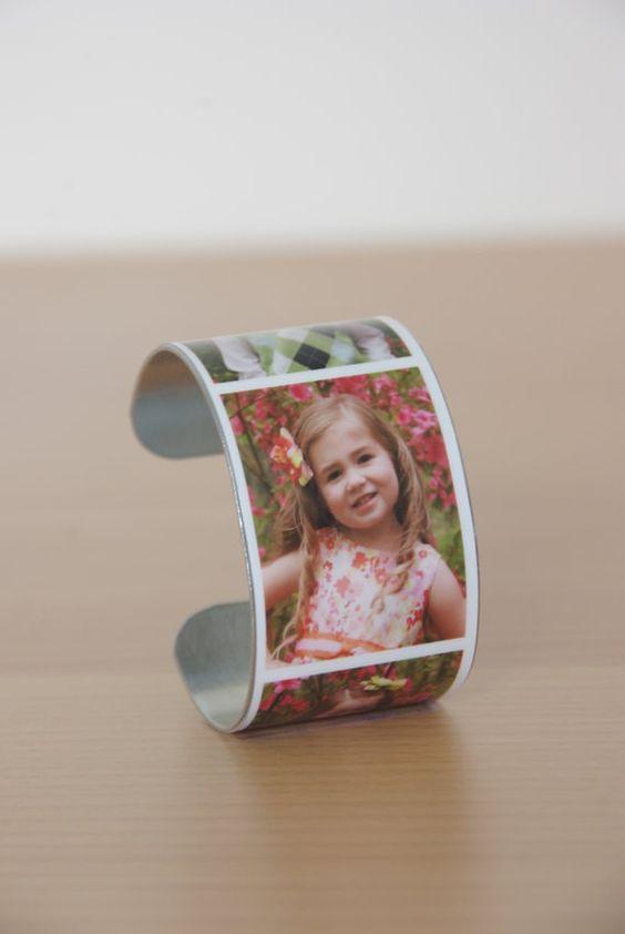Custom Photo Bracelet by PicktureThat on Etsy, $24.00