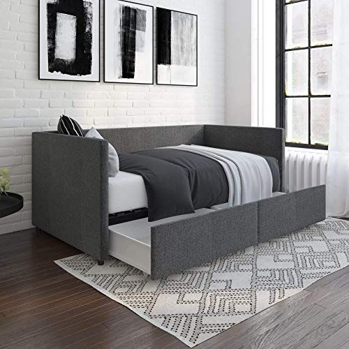 New Dhp Theo Urban Daybed Storage Drawers Small Space Furniture