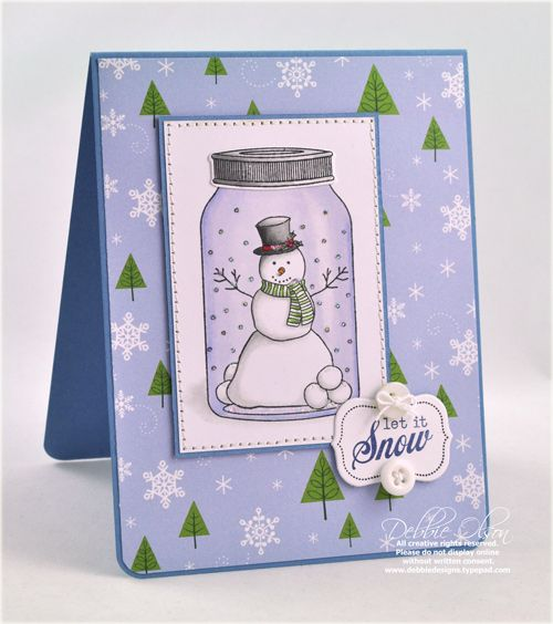 I have this jar stamp so should try this card