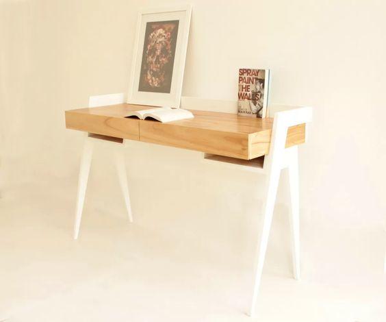 Escritorio mesa de trabajo madera paraiso dise o - Escritorio de trabajo ...