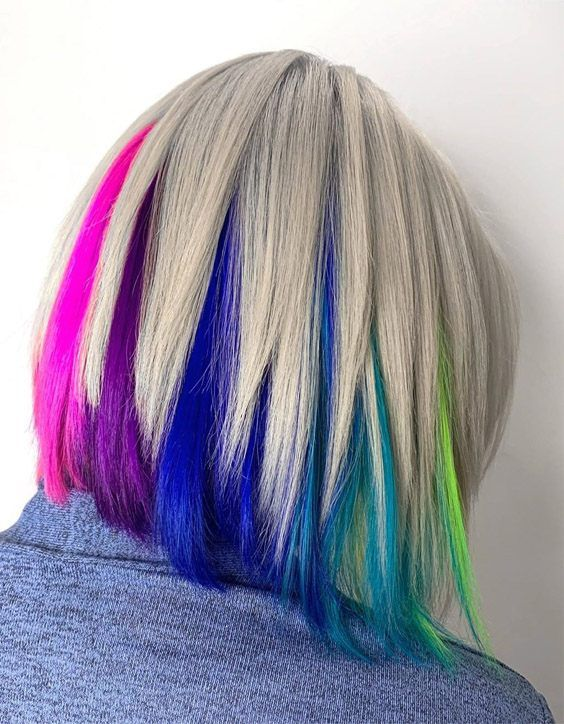 Edgy Hair Color Style Trends For 2020 Edgy Hair Color Hair Color Crazy Edgy Hair