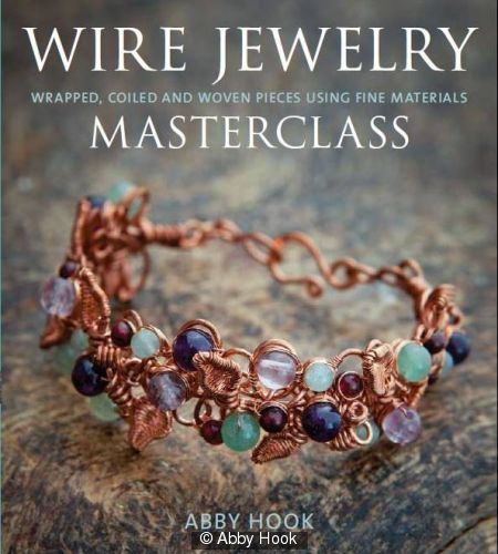 Wire Jewelry Masterclass - Front Cover    Any orders placed through my website will receive a signed copy of the book. If you would like a dedication inside, please be sure to send me the details either in the notes to seller on your payment or in an email.