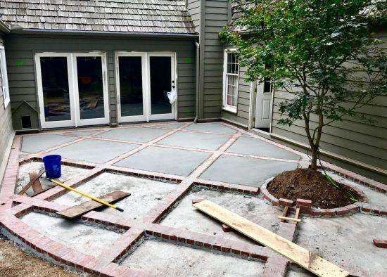 Бетон залить двор купить бетон в одинцове с доставкой
