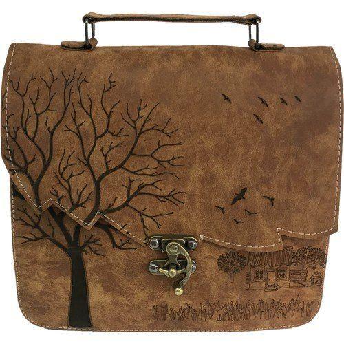 Canta Stilim Taba Renk Nubuk Deri 2422 T El Ve Capraz Bayan Cantasi 2422 T Bayan Canta Cantasi In 2020 Leather Bags Handmade Leather Bag Pattern Leather Hip Bag