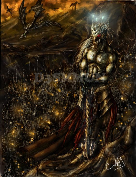 Morgoth y su Hueste by D3SMMUN.deviantart.com on @DeviantArt