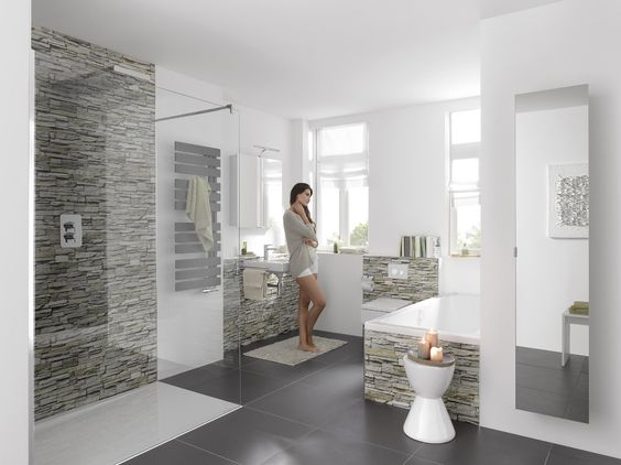 panelen badkamer - Google zoeken | huis bouwen | Pinterest | Modern