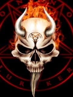 Skull wallpaper skulls and google on pinterest - Devil skull wallpaper ...
