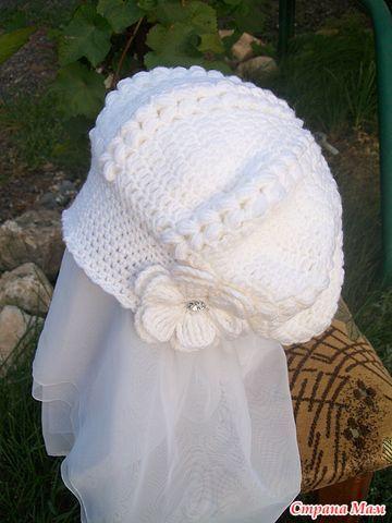 Uncinetto d'oro: Cappello! Use google translate hat crochet pattern