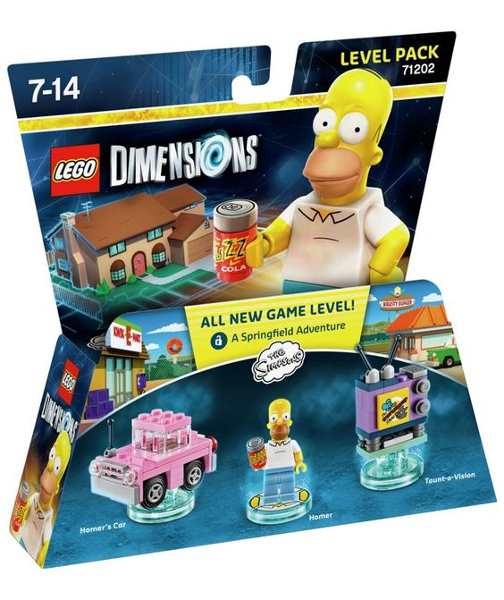 Buy LEGO Dimensions: Homer Simpson Level Pack at Argos.co.uk - Your Online Shop for Lego Dimensions.