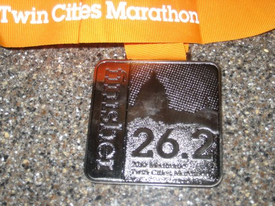 Twin Cities Marathon 2011 Oct 7.  I'm in!