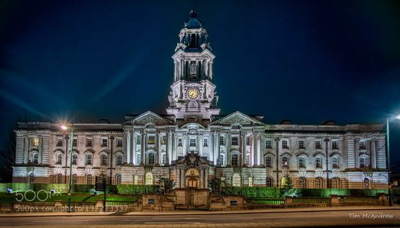 Stockport Town Hall by TimMcAndrew. @go4fotos