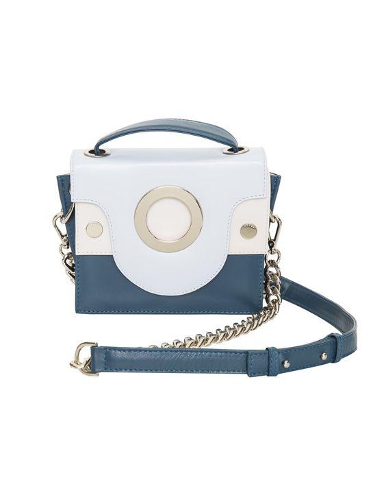 Bolsa Mini Bag Blue Modem inverno 2017 Minas Trend