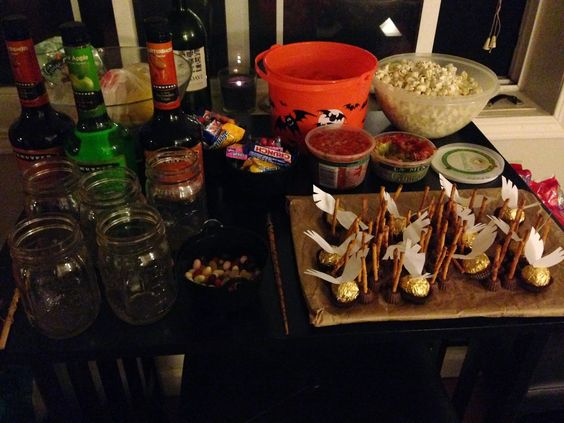 The Harry Potter Halloween spread