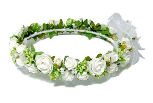 Wianek Komunijny Wianki Komunijne Komuniaeu Flower Crown Floral Wreath Floral