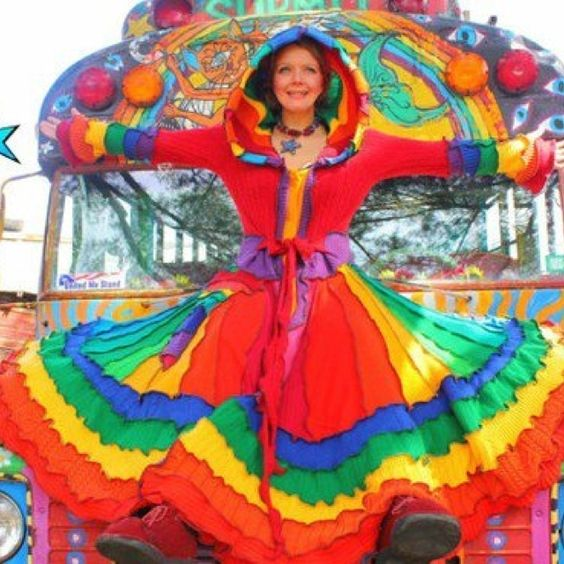 Fiesta dress: