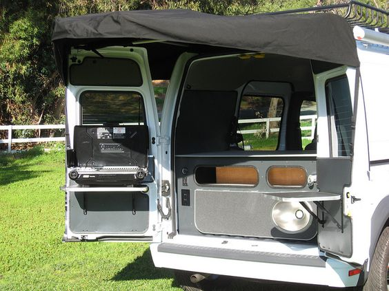 ford transit connect camper conversion by khd campers by kevin hornby designs via flickr van. Black Bedroom Furniture Sets. Home Design Ideas