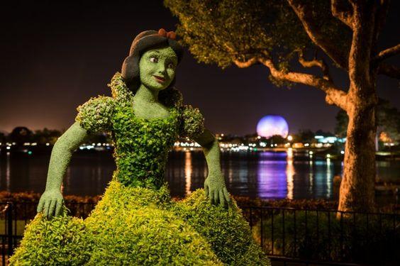 Snow White…in Green - Elizabeth Panko