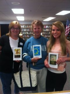 3 generations of World Book Night Givers 2012.  Myself, my mom and my daughter.  @Hannah Teague Book Night 2012